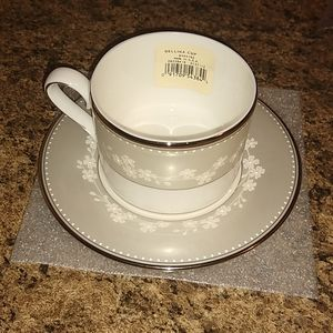Lenox Bellina Fine China  Cup And Saucer